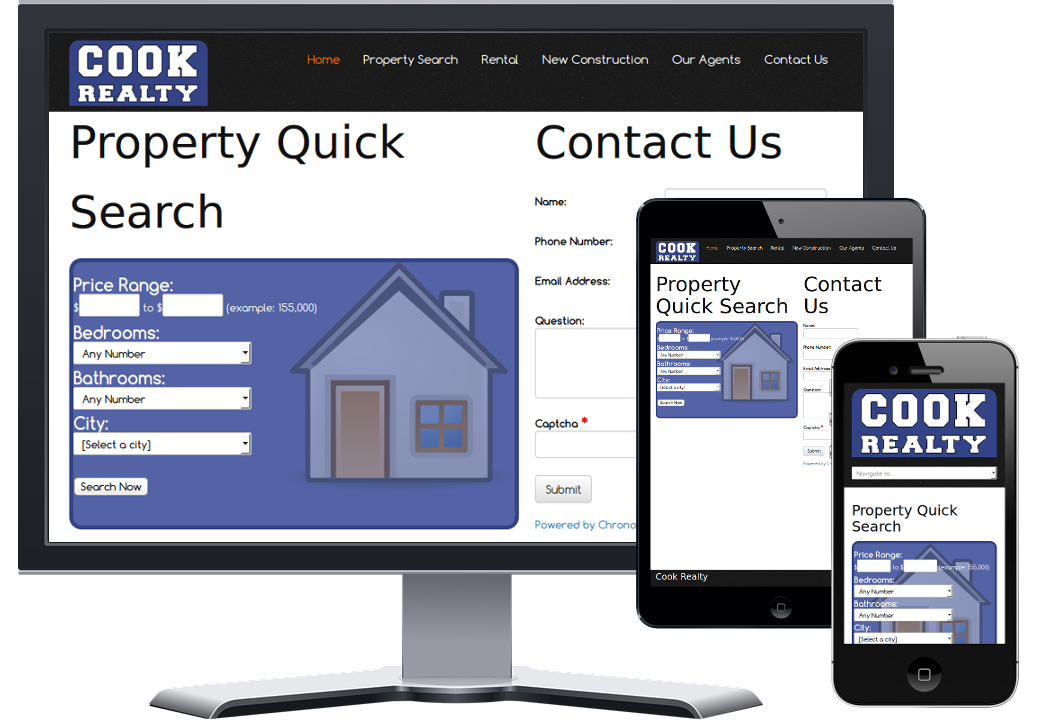 CookRealty web portfolio icon